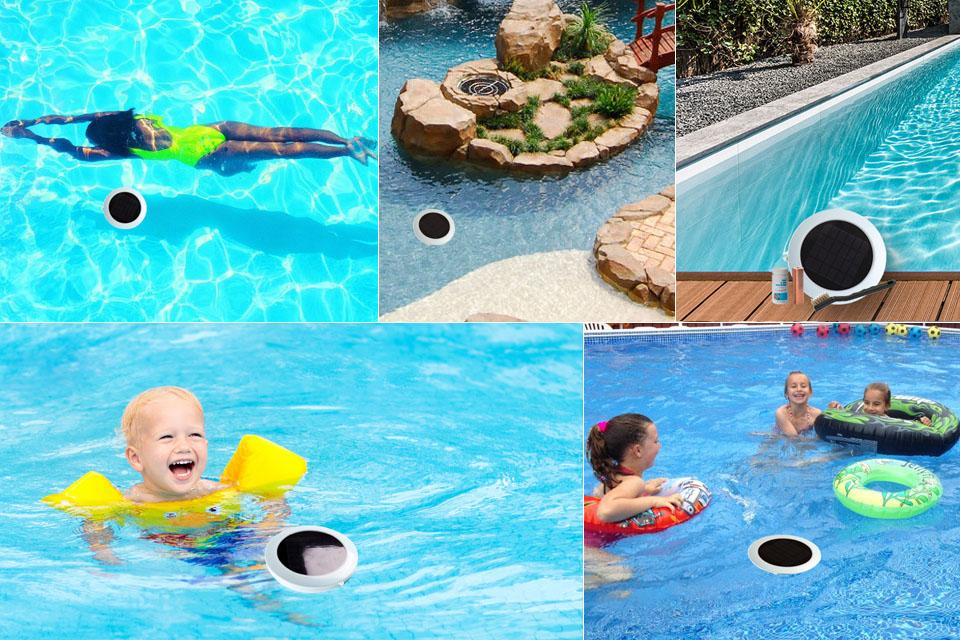 Solar Pool Ionizer, Solar Swimming Pool Ionizer