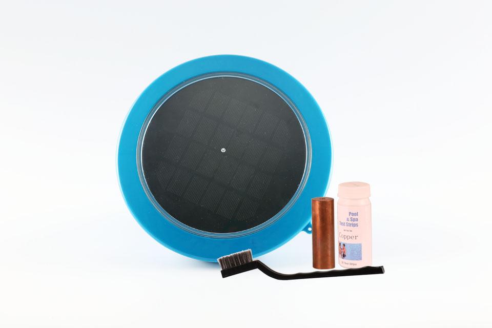 Solar ionizer, Solar pool ionizer, Solar swimming pool ionizer